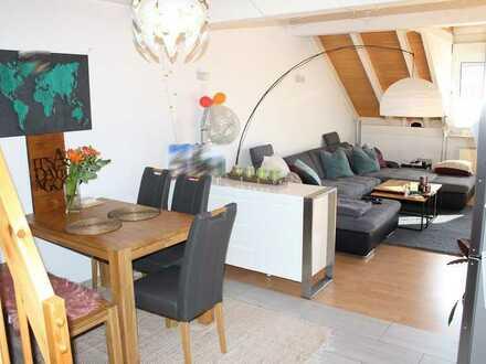 Moderne Galeriewohnung mit Garage und PKW-Stellplatz in ruhiger Lage in Göllheim