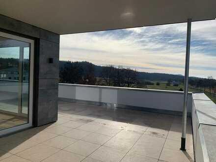 Erstbezug: exklusive 4 Zi. Penthouse-Wohnung mit EBK und Dachterasse in Bad Dürrheim