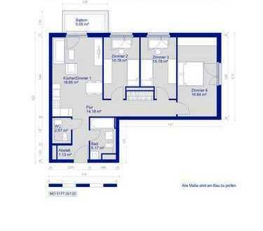 Ihr neues Zuhause im 10.OG! Mit Aufzug und Gäste-WC