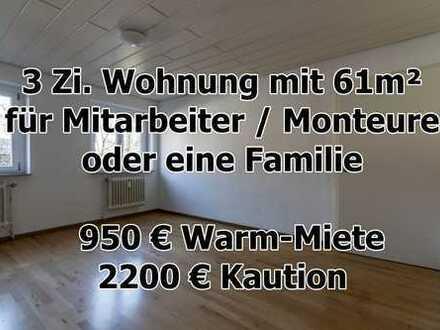 3 Zimmer Wohnung mit 65m² in Lichtenstein-Unterhausen