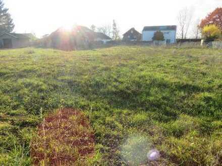 Den Minuszinsen ein Schnäppchen schlagen! Grundstück ohne Bauzwang in Hagau