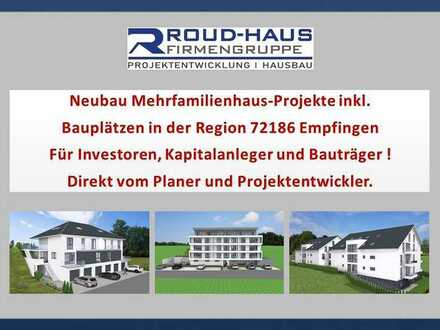 Neubau MFH-PROJEKTE inkl. Bauplatz in Empfingen