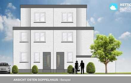 Neubau Doppelhaushälfte der besonderen Art mit Stellplatz & pflegeleichtem Grundst. GG/Dornheim!