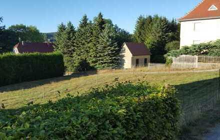 Baugrundstück in guter Lage von Oppach zu verkaufen.