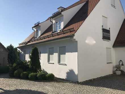 Herrliche 3,5 Zimmer-Erdgeschosswohnung mit Terrasse in Hilgertshausen zu vermieten!