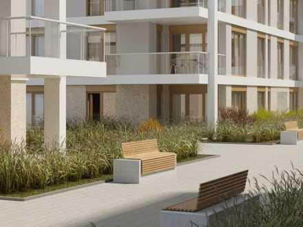Hatz-Areal - Das Tor zur Innenstadt - Hochwertige 4-Zimmer-EG-Wohnung mit großer Terrasse und Garten