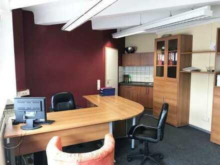 Büroflächen mit Lagehalle in der City