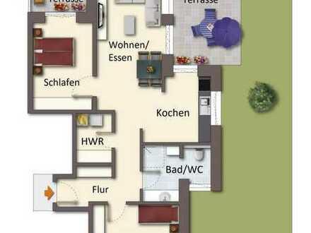Neubau-Erdgeschosswohnung in bevorzugter Wohnlage von Papenburg-Untenende