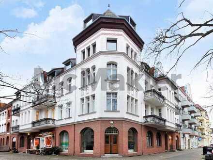 Hell und gepflegt in Berlin-Borsigwalde: Vermietete 3-Zi.-ETW mit Loggia und Balkon