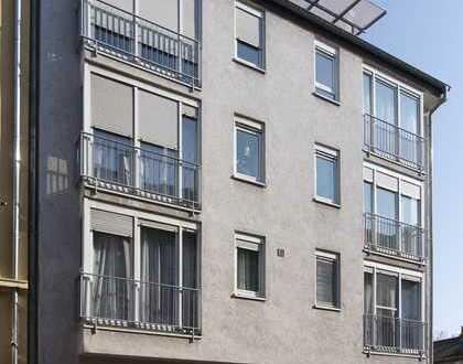 Gepflegte 3-Raum-Maisonette-Wohnung mit überdachter Dachterrasse in Ludwigshafen