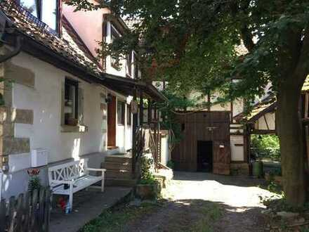 Charmantes Fachwerkhaus im Ortskern von Erdmannhausen