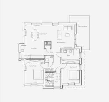 Schicke Neubauwohnung mit Dachterrasse und Stellplatz in beliebter Lage von Eppinghoven