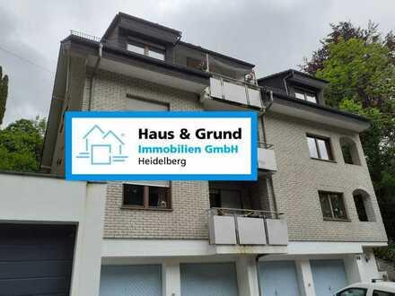 Haus & Grund Immobilien GmbH - 4-Zimmer Wohnung mit zwei Balkonen in Hanglage von HD-Rohrbach