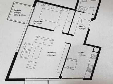 Geräumige 2-Zimmer-Wohnung mit 2 Balkonen, München am Hirschgarten