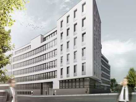 Provisionsfrei – Exklusive Bürofläche in der obersten Etage eines Neubaus direkt am HBF