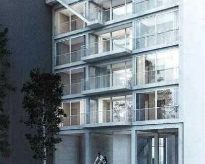 Bauhaus-Style - MFH m. 4 Wohnungen, Süd-Balkonen & Aufdach-Terrasse - Lift in die Einheiten