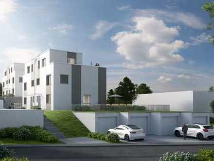 moderne Doppelhaushälfte in hochwertiger Architektur
