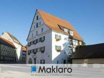 ++ An der schönen blauen Donau ++ Gaststätte und Eigentumswohnung in Traumlage im Paket zu verkaufen