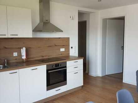 Einliegerwohnung (2 Zimmer) mit Terrasse und Wohnküche, teilmöbliert