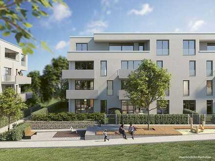 Schöne 3-Zi.-Wohnung mit Balkon in einmaligem Wohnensemble