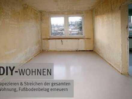 DIY- Ruhige 2Raum am Stadtrand+++Selbst renovieren +++ Miete sparen