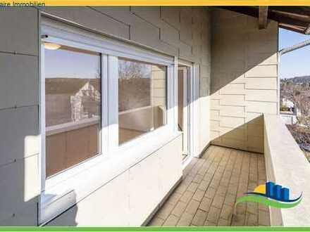 *3-Zimmer-Wohnung auf dem Hochberg mit Balkon und Garage*
