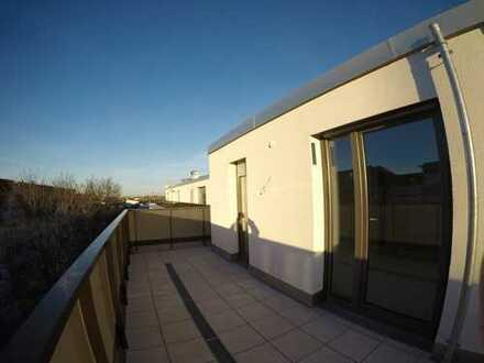 2 Zimmer-Dachterrassentraum Nähe Flaucher - provisionsfrei
