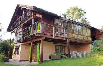 Ökologisches Holzhaus in Traumlage