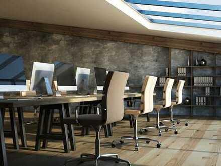 Büros, 25 bis 135 qm, teilmöbliert, OG, mit Tiefgaragenplätzen sofort zu vermieten