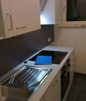 Modernisierte 1-Zimmer-Wohnung mit Balkon und Einbauküche in Bremen