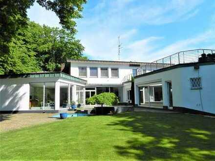 Große Villa auf parkartigem Grundstück! KAUF-OPTION für angrenzendes MFH z.B. als Büro!!!!!