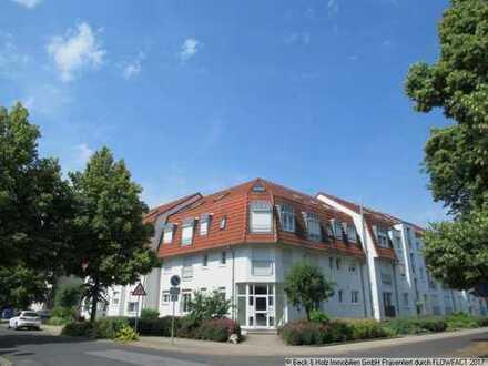 Verkehrsgünstig und trotzdem ruhig gelegene 2-Zi-DG-Wohnung in Coswig zu verkaufen!