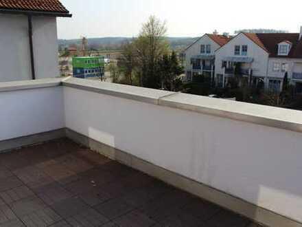 3 Zimmer-Whg mit Dachterrasse und Aufzug am nördlichen Stadtrand von Weilheim