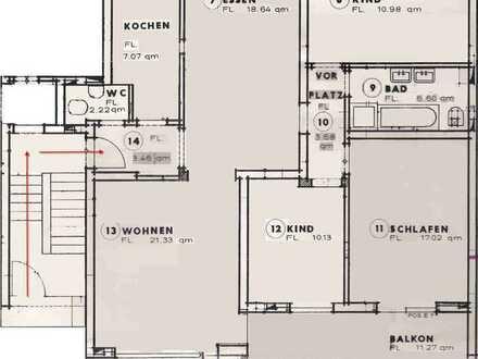 Schöne fünf Zimmer Wohnung in Baden-Baden, Haueneberstein