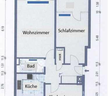 Schöne 3-Zimmer-DG-Wohnung mit Blick über Bremen komplett saniert