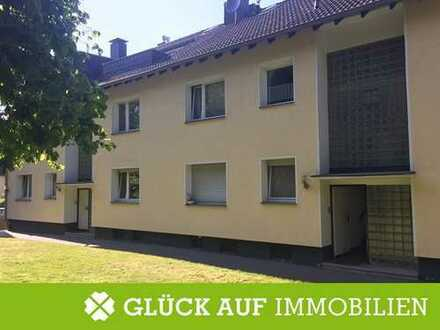 Hochpaterre - ruhige 2,5-Zimmerwohnung mit Einbauküche & Garten in gefragter Lage von Essen-Frintrop