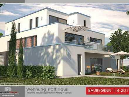 NEUBAU | Moderne Erdgeschoss Neubaueigentumswohnung in Voerde | Baubeginn 1.4.2019
