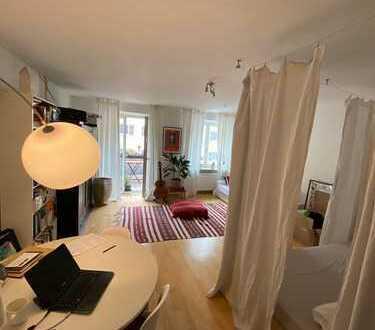 Helles 1-Zimmer Apartment mit Südbalkon+Küche