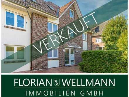 Oldenburg - Bürgerfelde | Gepflegte 2-Zimmer Wohnung mit Südbalkon und Tiefgaragenstellplatz