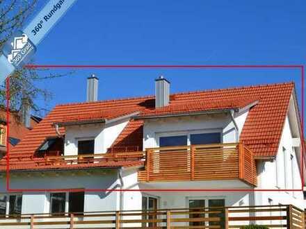 IM PRIVATEN BIETERVERFAHREN - Große 2-Zimmer-Dachgeschosswohnung in Penzing bei Landsberg am Lech