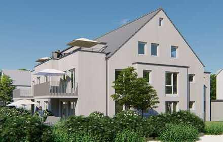 Vier - Zimmer-Dachgeschosswohnung (7) gr. Dach-Terrasse mit perfekter Süd-Lage...