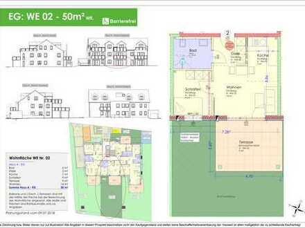 50m² 2ZKB Erdgeschosswohnung Ingolstadt/Süd - Provisionsfrei! (WE 02)