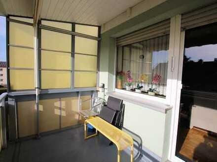 Gepflegte 3-Zimmerwohnung mit Südbalkon in Haunstetten!