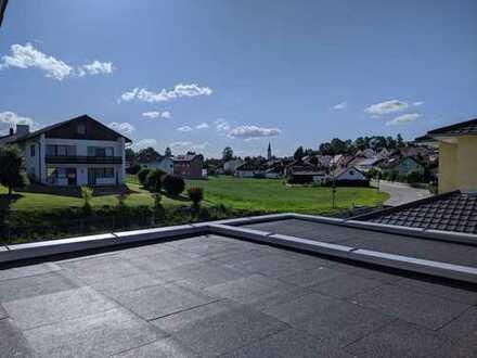 Neubau 3-Zimmer-Wohnung mit Dachterrasse
