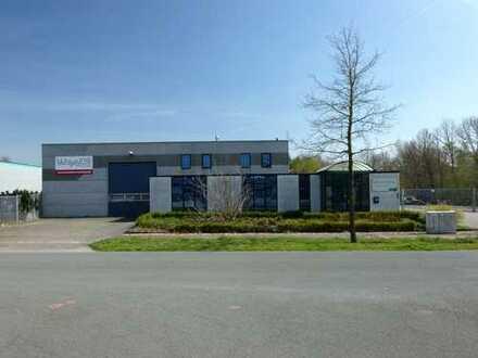 Büroflächen, Lagerhalle und Produktion im Gewerbepark Bad Bentheim-Gildehaus