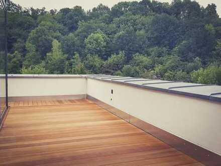 Überwältigendes Penthouse für Genießer mit Rundumblick ins Grüne!