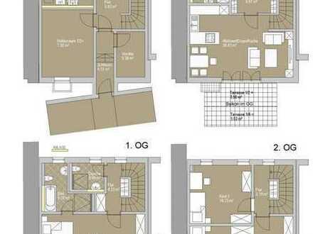 Exklusiv: 4-Zimmer Wohnung mit Haus-Charakter