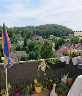 Ansprechende 4-Zimmer-Maisonette-Wohnung mit Balkon in Reinsdorf
