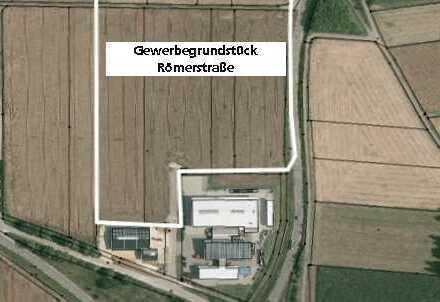 Gewerbegrundstücke des Marktes Wittislingen! Römerstraße / Papiermühlfeld