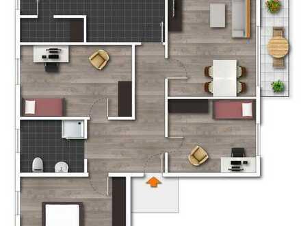 Helle 4-Zimmer-Hochparterre-Wohnung in Maikammer